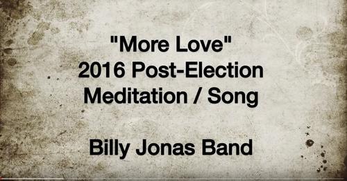 DecJan 2017 SONG OF HEALING -- More Love  NEW Website