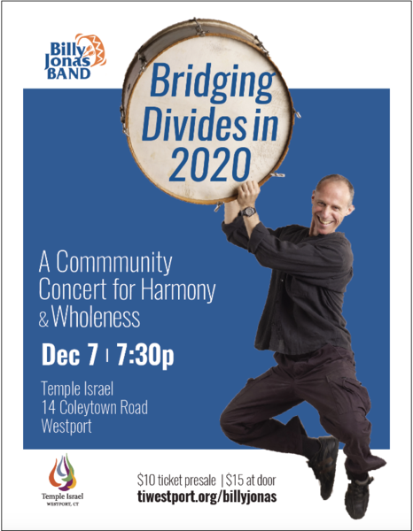 Bridging Divides in 2020  Interfaith Concert in Westport CT