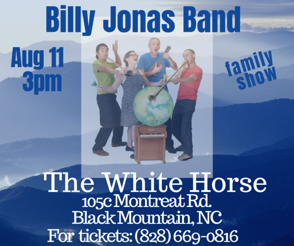 Billy Jonas Band in Black Mountain NC on Aug 11